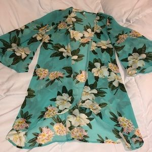 Other - Floral Swimsuit Coverup